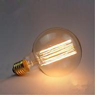 billige Glødelampe-1pc 40W E27 2300 K Glødende Vintage Edison lyspære 110-240V 85-265V V