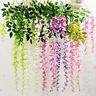 billige Kunstig Blomst-Kunstige blomster 1 Afdeling Moderne Stil Blålilla Vægblomst