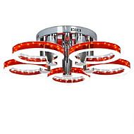billige Taklamper-5-Light Takplafond Omgivelseslys - LED, 90-240V, Varm Hvit / Hvit, LED lyskilde inkludert / 20-30㎡ / Integrert LED