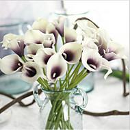 5 Tak Echt aanvoelend Aronskelk Bloemen voor op tafel Kunstbloemen