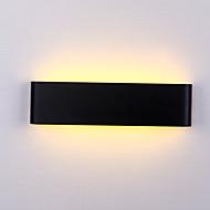 maks 6w moderne minimalistisk ledet aluminiumslampe nattbordslampe bad speil lett direkte kreativ midtgang