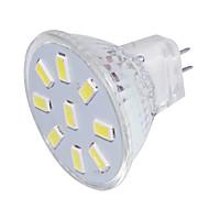 billige Spotlys med LED-YouOKLight 150lm GU4(MR11) LED-spotpærer MR11 9 LED perler SMD 5733 Dekorativ Varm hvit Kjølig hvit 9-30V