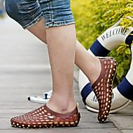お買い得  メンズサンダル-男性用 靴 ネオプレン 春 / 夏 コンフォートシューズ / 穴の靴 サンダル ウォーキング ブラック / レッド / カーキ色 / ネービーブルー