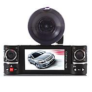 Dual Lens auto kamera vozilo dvr dash cam dvije video objektiv rekorder F600