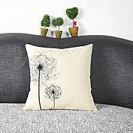 cheap Pillow Covers-pcs Cotton/Linen Pillow Cover, Graphic Prints Casual