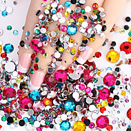 2000pcs Nail Art decorare stras Perle machiaj cosmetice Nail Art Design