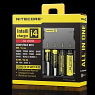 cheap Flashlights & Camping Lanterns-Nitecore I4 Chargers Adjustable High Quality Quick Charging for Li-ion Nickel Metal Hydride Nickel Cadmium 26650, 22650, 18650, 17670,