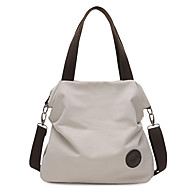 Women Bags All Seasons Canvas Tote for Casual Black Beige Gray Coffee Blue