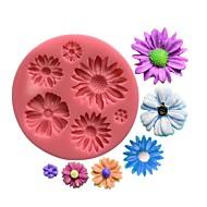 billige Bakeredskap-1 baking Miljøvennlig / Ny ankomst / kake dekorasjon / 3D / Høy kvalitet Kake Plastikk Bakeformer