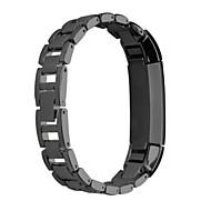 billiga Smart klocka Tillbehör-Klockarmband för Fitbit Alta Fitbit Sportband Rostfritt stål Handledsrem