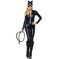 Odore Zečice Zentai odijela Morphsuit Cosplay Nošnje Ženka Halloween Karneval Festival/Praznik Halloween kostime Crn Jednobojni