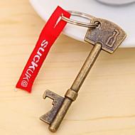 1PCS Mini Bottle Portable Beer Openers Key Shape Bottle Opener Steel Bronze Keychain Hangings Bottle Opener wine