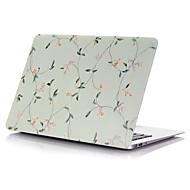tanie Akcesoria do MacBooka-MacBook Futerał na Futerały pełne Kwiaty Plastikowy MacBook Pro 15 cali MacBook Air 13 cali MacBook Pro 13 cali MacBook Air 11 cali