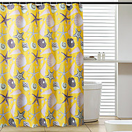 cheap Shower Curtains-1pc Shower Curtains Modern Polyester Bathroom
