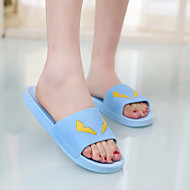 Fall Comfort PVC Casual Flat Heel  Black / Blue / Green / Pink / White