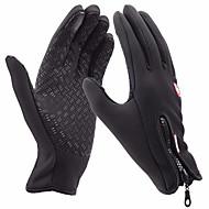 cheap Ski Gloves-Ski Gloves Men's Women's Full-finger Gloves Keep Warm Windproof Snowproof Lycra Ski / Snowboard Leisure Sports