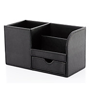 cheap Storage & Organization-Organizer Boxes MultifunctionPU Leather