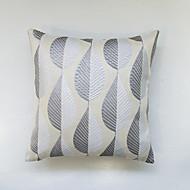 Cobertura de almofada jacquard geométrica - decoração de mobiliário doméstico bege