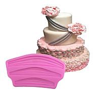 baratos Moldes para Bolos-Ferramentas bakeware Silicone Amiga-do-Ambiente / Anti-Aderente / Ferramenta baking Pão / Bolo / Biscoito Moldes de bolos