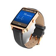 tanie Inteligentne zegarki-Inteligentny zegarek na iOS / Android / iPhone Pulsometr / Spalone kalorie / Długi czas czuwania / Odbieranie bez użycia rąk / Ekran dotykowy Powiadamianie o połączeniu telefonicznym / Rejestrator