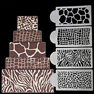 1 Cozimento Decoração do bolo Bolo Plástico Utensílios de Decoração