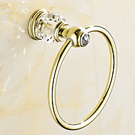 cheap Antique Brass Series-Towel Ring Contemporary Stainless Steel 16.5CM 16.5CM Towel Ring