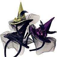 1pcs heks hoofd hoepel halloween heks hoofd gesp halloween props feestartikelen