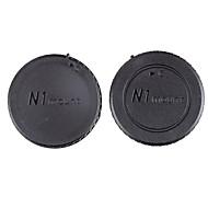 dengpin® bakre linsedeksel + kamerahuset cap for nikon j5 J1 v1 j2 v2 J4 v3 s1 s2