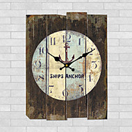 1PC Archaize Clock Fashion  Wall Clock The Sitting Room  The Clock Retro horologe (Pattern is Random)