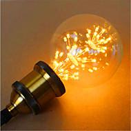 E26/E27 LED-globepærer G95 49 leds Dyp Led Dekorativ Gul 800lm 2300K AC 220-240V