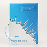 Passin suojus ja henkilökortin suojus Passisuojus Vedenkestävä Kannettava Pölynkestävä Säilytys matkalla varten Vedenkestävä Kannettava