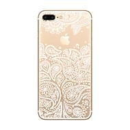 用途 iPhone X iPhone 8 iPhone 8 Plus iPhone 7 iPhone 6 iPhone 5ケース ケース カバー 超薄型 クリア パターン バックカバー ケース Appleロゴアイデアデザイン ソフト TPU のために Apple