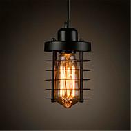 billiga Belysning-Cylinder Hängande lampor Glödande - Ministil, LED, designers, 110-120V / 220-240V Glödlampa inkluderad / 5-10㎡ / E26 / E27