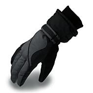 お買い得  スキー手袋-スキーグローブ 男性用 保温 PU スキー オートバイ 冬