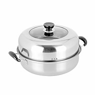 cheap Cookware-1PC Slap-Up Multi-Purpose Domestic Kitchen Restaurant Culinary Cooking Utensils Stainless Steel Steamer