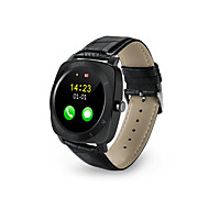 tanie Inteligentne zegarki-Inteligentny zegarek na iOS / Android Odbieranie bez użycia rąk / Kamera / aparat / Śledzenie odległości / Krokomierze / Obsługa wiadomości Rejestrator aktywności fizycznej / Rejestrator snu / Budzik