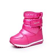 tanie Obuwie dziewczęce-Dla dziewczynek Obuwie Syntetyczny / Derma Zima Wygoda / Śniegowce Botki Spacery Tasiemka na Czarny / Fioletowy / Fuksja