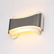 baratos -AC 85-265 5W Led Integrado Moderno/Contemporâneo Cromado Característica for LED,Luz Ambiente Lâmpadas de Parede Luz de parede