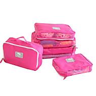 Cestování Cestovní taška Organizér na cesty Kosmetická taštička Sáček na boty Cestovní sklad Doplňky k zavazadlůmVoděodolný Odolné vůči