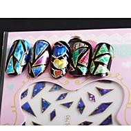 1 Adesivos para Manicure Artística maquiagem Cosméticos Designs para Manicure