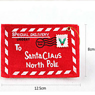 クリスマスツリーのペンダント不織布封筒クリスマスカードランダム