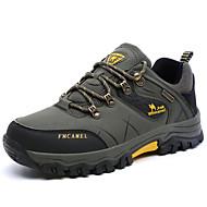 hesapli Dağ Yürüyüşü Donanımları-Erkek Ayakkabı Kumaş Bahar / Sonbahar Rahat Spor Ayakkabısı Dağ Yürüyüşü Günlük için Bağcıklı Gri / Kahverengi / Yeşil