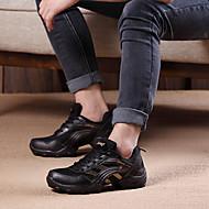 cheap Dance Sneakers-Women's Jazz Modern Fabric Heel Performance Chunky Heel Gray Golden Non Customizable