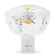 baratos Focos-YouOKLight Lâmpada Subaquática Portátil Instalação Fácil Impermeável Decorativa Iluminação Externa Banheiro RGB <5V