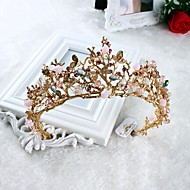 imiteret perle rhinestone legering tiaras hovedstykke elegant stil