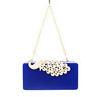 жен. Мешки Все сезоны Бархат Вечерняя сумочка Crystal / Rhinestone для Свадьба Для праздника / вечеринки Официальные Лиловый Пурпурный