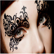 cheap Temporary Tattoos-1 Non Toxic Pattern Halloween Wedding Christmas Lace Others Romantic Series Tattoo Stickers