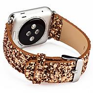billiga Smart klocka Tillbehör-Klockarmband för Apple Watch Series 4/3/2/1 Apple Klassiskt spänne Äkta Läder Handledsrem