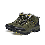 baratos Sapatos Masculinos-Homens Couro Ecológico Primavera / Outono Conforto Tênis Aventura Antiderrapante Cinzento / Khaki / Verde Escuro