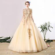 míč šaty lžíce krk katedrála vlak tyle svatební šaty s beading by sg